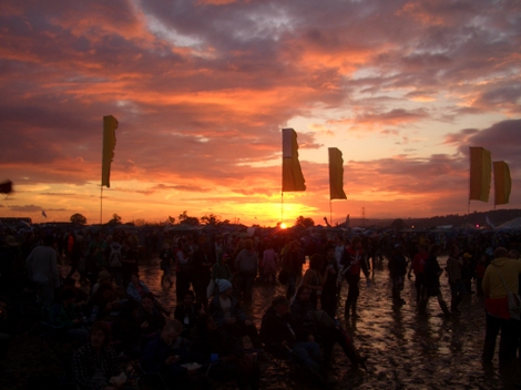 Glastosunset